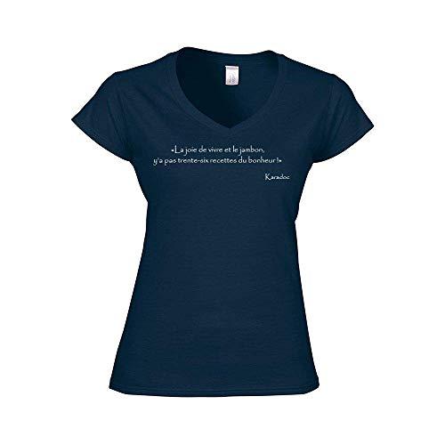 Le t-shirt citation pour femme et fan de Kaamelott