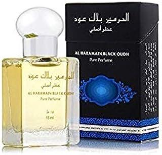 Al Haramain Black Oudh - Perfume de 15ml con base de aceite