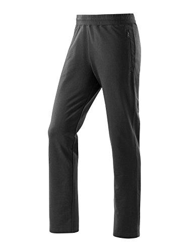 Joy Sportswear Frederico Herren Freizeithose, Jogginghose für Sport und Fitness. Gymhose mit bequemen Bund und praktischer Reißverschlusstasche Langgröße, 98, Black