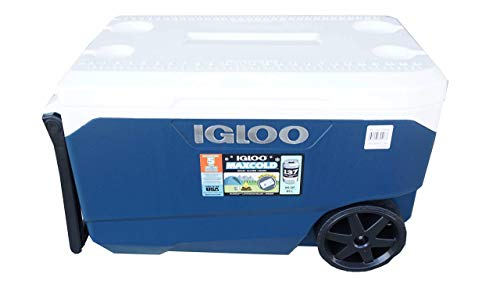 Igloo Cooler with Wheels - Latitude 90 Quarts - Fits up to 137 Cans -...