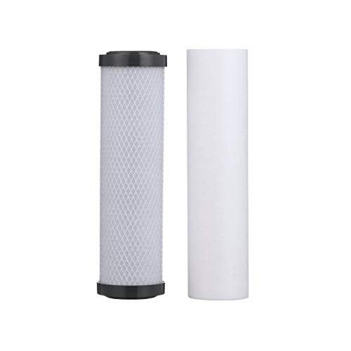 Watts Premier Lead, Cyst, VOC Carbon Block Two Stage Replacement Filter, Pack, 560088