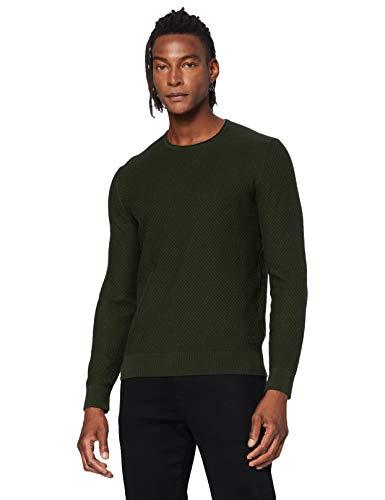 BOSS Mens Komallo Pullover Sweater, Open Green (346), S