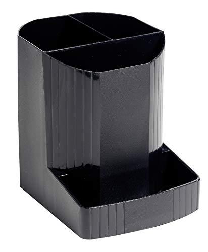 Exacompta Mini-Octo Ecoblack - Cubilete, color negro