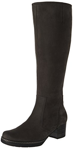 Gabor Shoes Damen Comfort Basic Stiefel, Grau (Dkgrey(S.S/A.F/Mi), 37 EU
