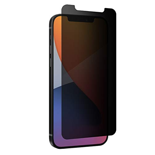 Zagg - InvisibleShield Glass Elite Privacy Plus - Proteggi il tuo schermo da urti e occhi curiosi per Apple iPhone 12 Pro, iPhone 12, iPhone 11, iPhone Xr
