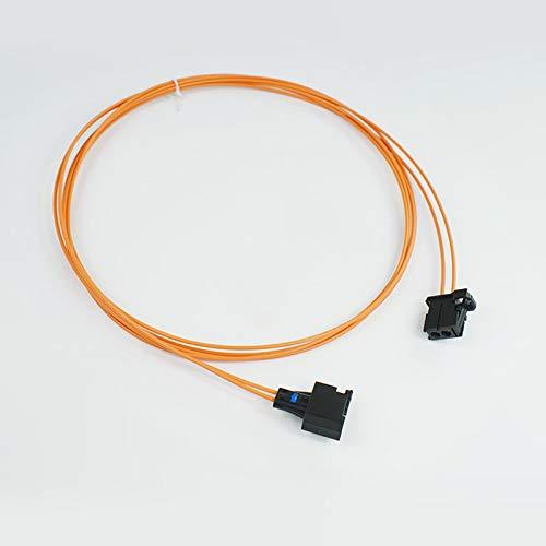 wroadavee Connecteur de câble à fibre optique mâle vers femelle.