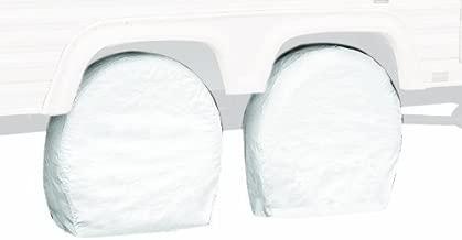 Classic Accessories OverDrive Standard RV & Trailer Wheel Cover, White, for 33