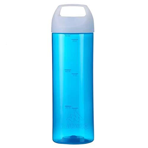 Quechua 0.75l Trekking, Hiking, Outdoor Water Bottle (Blue)