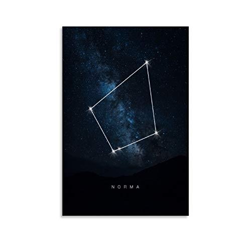 Leinwandbild Norma, Raumkonstellationen, 40 x 60 cm, Sternenhimmel