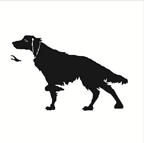 Hunters Dog Wandaufkleber Funny Dog Home Decor Für Wohnzimmer Abnehmbare Wasserdichte Kleber Decals Home Art Decor 59X39Cm