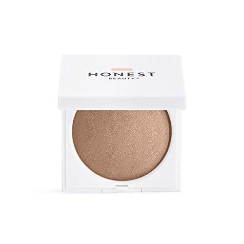 Honest Beauty Luminizing Glow Powder, Dusk Reflection | Talc Free, Paraben Free, Dermatologist Tested, Cruelty Free | 0.35 oz.