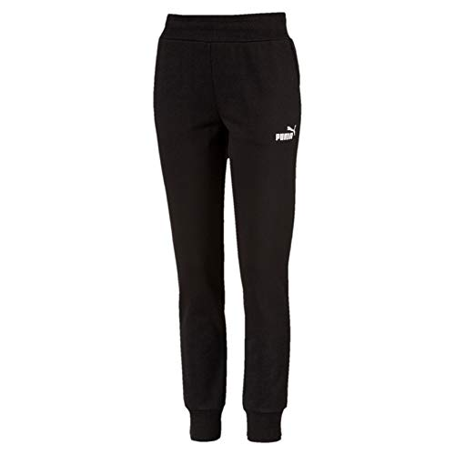 PUMA ESS Sweat FL Cl Chándal, Mujer, Cotton Black, S