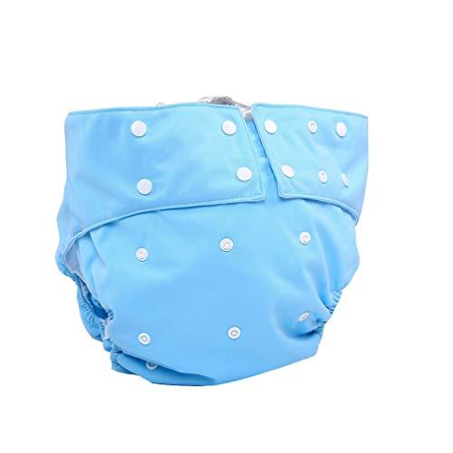 XGYUII Herbruikbare volwassen luiers verstelbare doek luier wasbare luier voor oudere postoperatieve zorg lekvrije luier