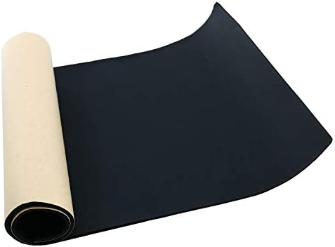 Homend Sponge Neoprene with Adhesive Foam Rubber Sheet 1 8 Thick X 12 Wide X 48 Long Cut to product image