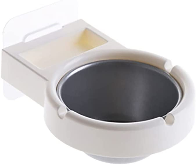 WJCCY Wall Mounted Stainless Steel Ashtray Cash special price Max 80% OFF Cigarettess Bathroom
