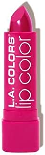L.A. COLORS Moisture Rich Lip Color - Hot Pink (並行輸入品)