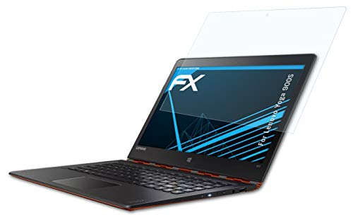 atFolix Schutzfolie kompatibel mit Lenovo Yoga 900S Folie, ultraklare FX Bildschirmschutzfolie (2X)