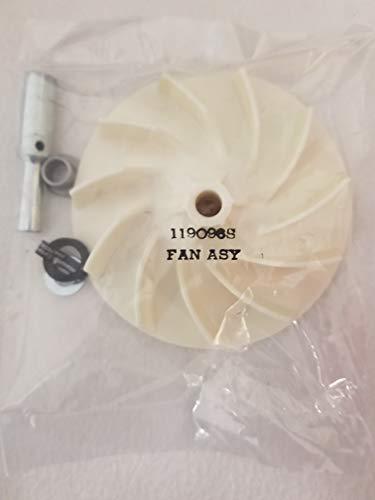 Kirby Fan Assembly Ventilador, Gris Apagado Blanco, Pack de 1