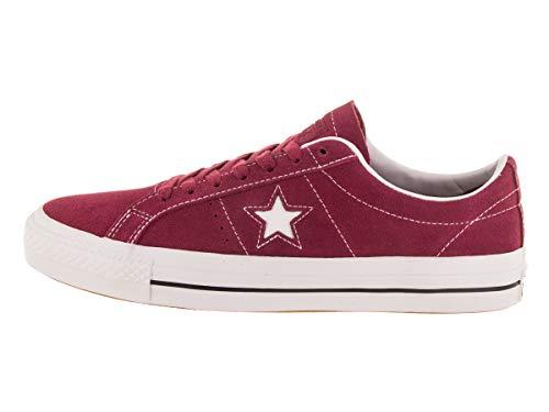 Converse Unisex One Star Pro Ox RH Rhubarb/Black/Wht Skate Shoe 7.5 Men US / 9 Women US