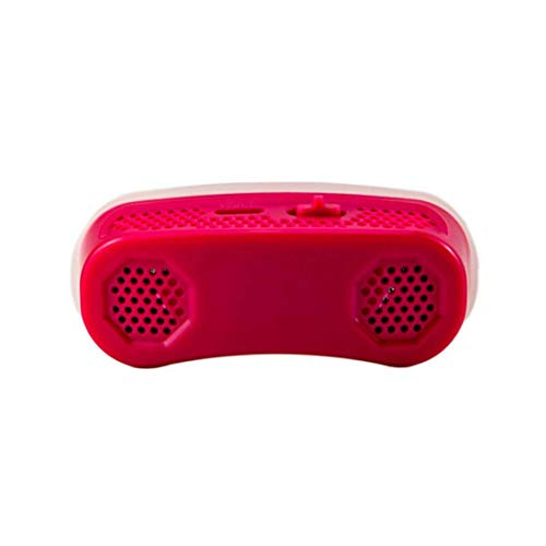 itchoate Micro CPAP Anti Snoring Electronic Device for Sleep Apnea Stop Snore Aid Stopper - red