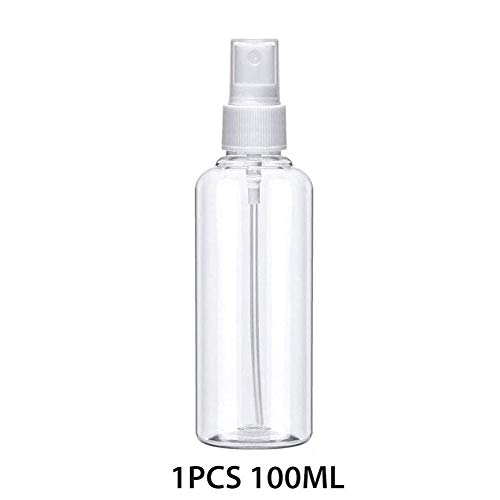 Feel-ling 100 ML Clear Bottles with Fine Mist Sprayer,Refillable Reusable Bottle for Travel Perfumes Toiletries Liquid