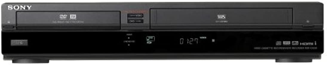 Sony RDR-VX555 Tunerless DVD Recorder/VHS Combo Player