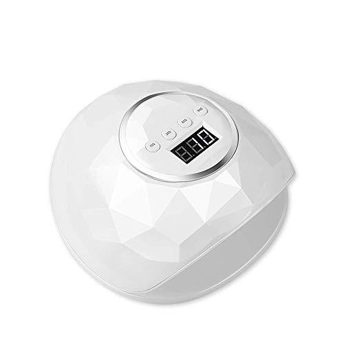 Professionele LED Gel Nail Lamp Polish Curing Droger Light Smart Auto-sensing met 4 Timer instellen 10/30/60 / 99s White
