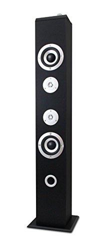 Metronic 477091–Altavoz Bluetooth, 160W, para teléfono/Tablet/PC/Disco Duro/USB Stick/reproducción de MP3Dispositivo, Negro