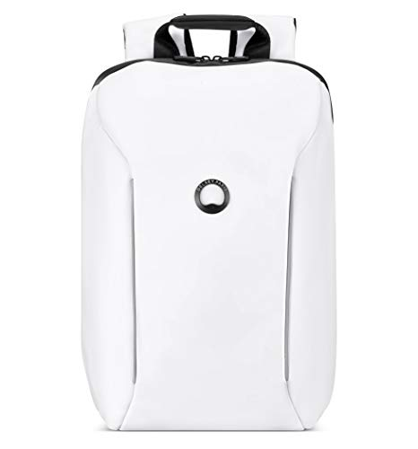 DELSEY Paris Securain Water-Resistant Laptop Backpack, White, One Size