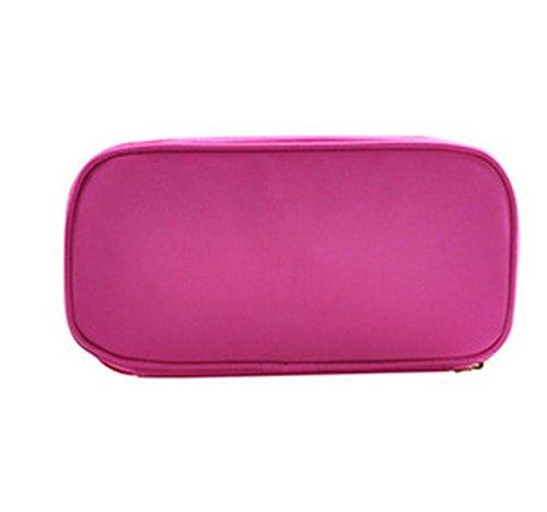 Sac De Maquillage Sac étanche Lavage Sac De Rangement Sous-vêtements Sacs De Rangement Sous-vêtements Multifonction,Pink