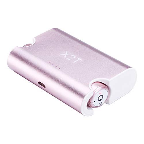 Desconocido Auriculares X2T Mini Auriculares Bluetooth inalámbricos Invisibles Auriculares estéreo Auriculares internos para Correr Correr Ejercicios de Gimnasio
