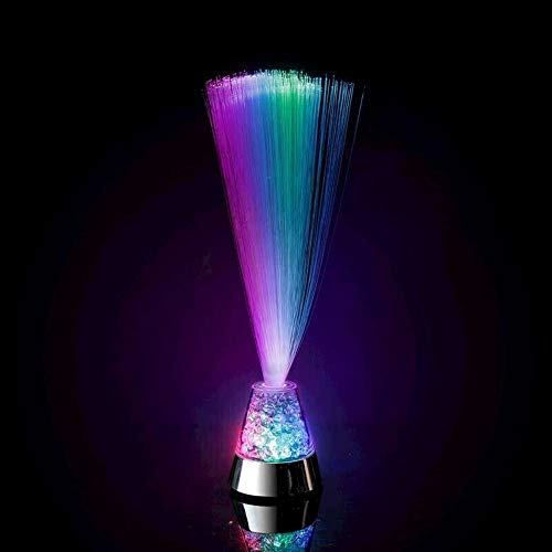XIANGYANG Fibre Optic Light Ice Star Light Novelty Lamps Colorful Gypsophila Color Changing Crystal Base Relaxing Night Decoration for Home Party 4