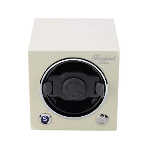 RAPPORT London Evo Cube - Reloj moderno sofisticado con motor silencioso
