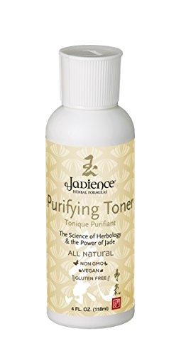 Jadience Face Toner - Korean Skin Care Made in USA: 4oz | Natural Herbal Formula | Anti Aging Wrinkle Reducing Pore Cleanser Minimizer | Purifying Acne Facial Wash & pH Balancer with Adaptogens