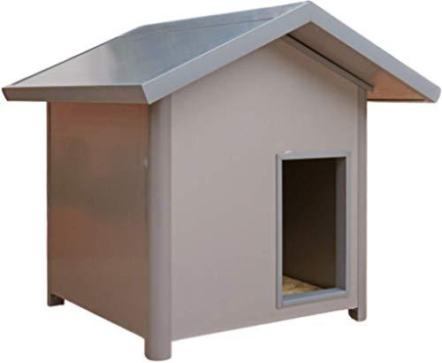 Thermoestank Caseta para Perro con Aislamiento Térmico Gris