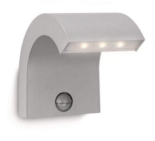 Philips 163568716 Riverbank Lanterne Murale LED Gris 7,5 W