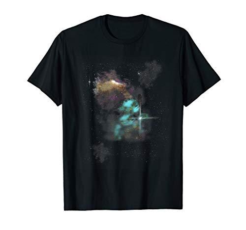 Raumnebel | Milchstraße Galaxie & Sterne Astronomie Geschenk T-Shirt