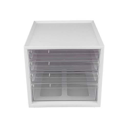 YARNOW Caja De Cajón De 1 Pack Caja De Almacenamiento De Plástico Contenedor De Cocina Organizador De Escritorio