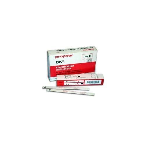 Propper Manufacturing 26410300 Sterilization Indicator Strip, 8