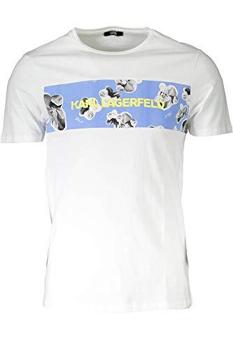 Karl LAGERFELD T-Shirt Orchid - White, Weiß Medium