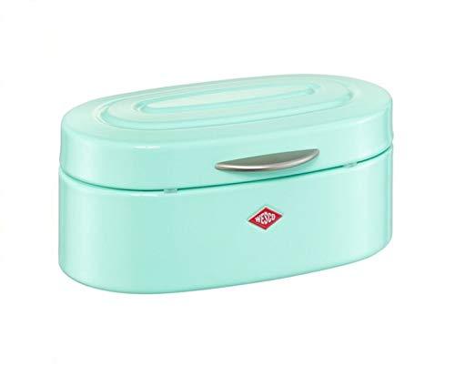 WESCO 236001 MINI ELLY CL Brotkasten Aufbewahrungsbox Stiftbox Schmuckkasten Sammelbox SALE%, Farben:Mint