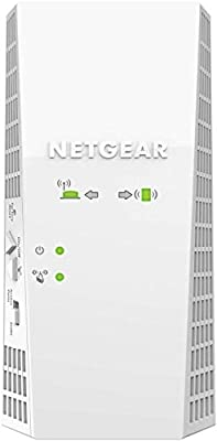 NETGEAR Wireless Mesh WiFi Internet Booster Range Extender | Covers up to 2100 sq ft and 35 Devices with AC1900 (EX6410)