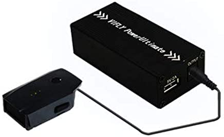 $49 Get VIFLY PowerUltimate All-in-one Adaptor/Charger for Outdoor Charging of DJI Batteries via Power Bank, Car Cigarette Port, Lipo Battery Compatible with Mavic Pro, Mavic 2, Mavic Air, Spark (Mavic Air)