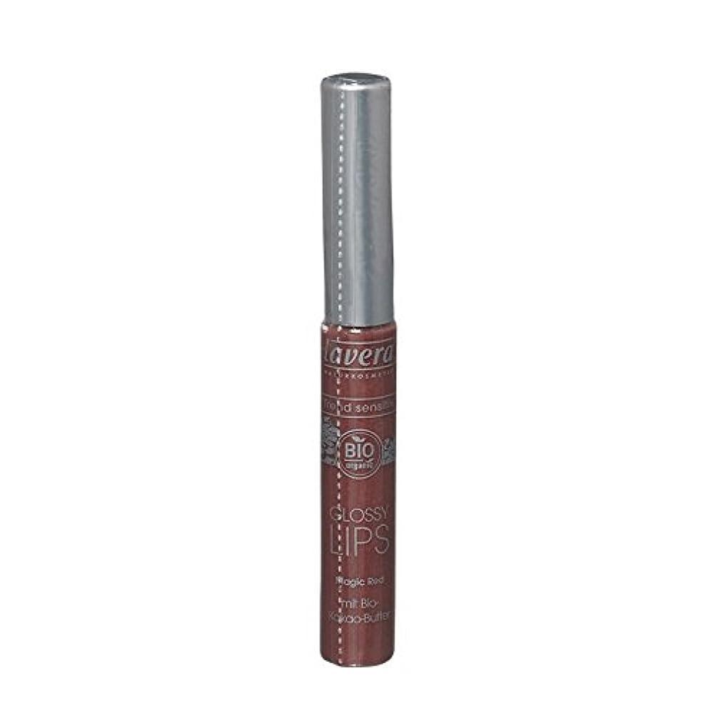 イル血まみれの分析Lavera Trend Sensitiv Glossy Lips 03 Magic Red (Pack of 6) - Lavera傾向Sensitiv光沢のある唇03魔法の赤 (x6) [並行輸入品]