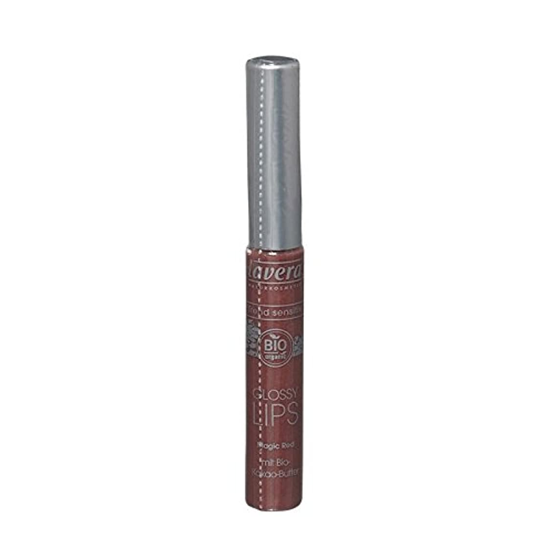 不良品角度ピアノLavera傾向Sensitiv光沢のある唇03魔法の赤 - Lavera Trend Sensitiv Glossy Lips 03 Magic Red (Lavera) [並行輸入品]