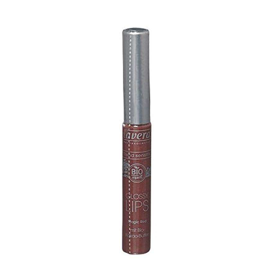聖歌取り組む異議Lavera Trend Sensitiv Glossy Lips 03 Magic Red (Pack of 2) - Lavera傾向Sensitiv光沢のある唇03魔法の赤 (x2) [並行輸入品]