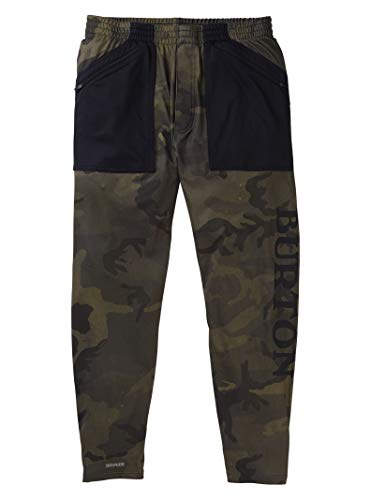 Burton Men's Men's Midweight Stash Pant, Worn Camo, X-Large