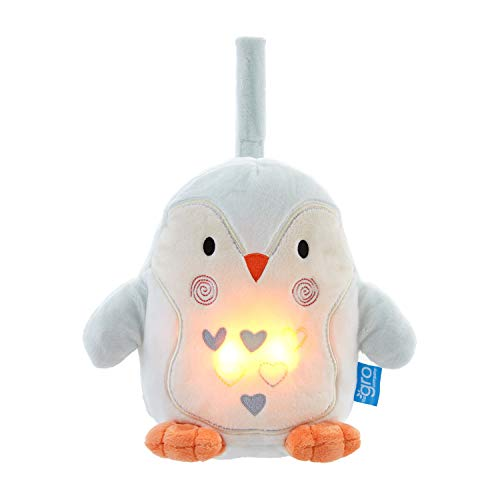 The Gro Company Percy The Penguin Grofriend Light and Sound Sleep Aid