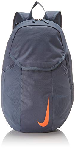 Nike Unisex-Erwachsene Academy Backpack Ba5508-490 Fußball-Rucksack, Grau (Grey), 18x31x48 cm (B x H x T)