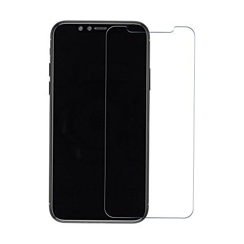 Nuglas iPhone X 5,8 Pollici Screen Saver, Pellicola salvaschermo iPhone X in vetro temperato Pellicola temperata iPhone X Protezione in vetro protettivo iPhone temperato 9h In vetro trasparente ultra fine 0,3 mm
